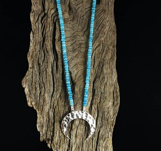 Turquoise 'Moon' Necklace