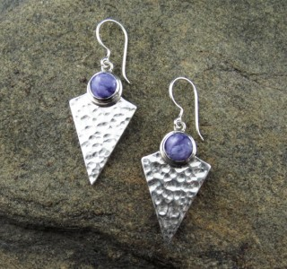 Charoite Earrings