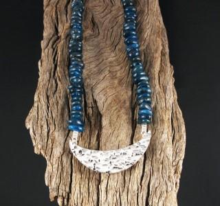 Blue Apatite Necklace