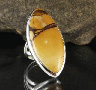 Brecciated Mookaite Ring